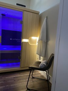 infrared sauna at CryoStretch Blount