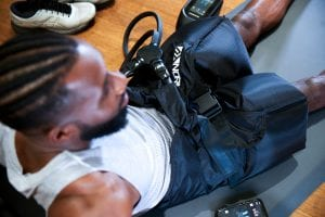 normatec gym workout hips