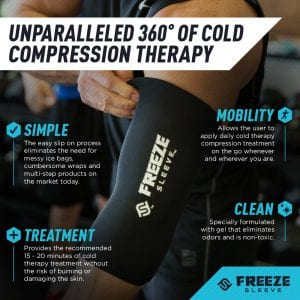 normatec freeze sleeve product highlight