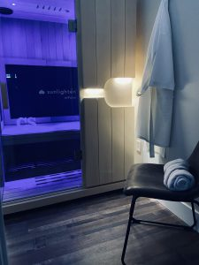 Infrared sauna at CryoStretch in Knoxville